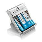 Charger Kit com 8 Pilhas Multilaser - Cb093