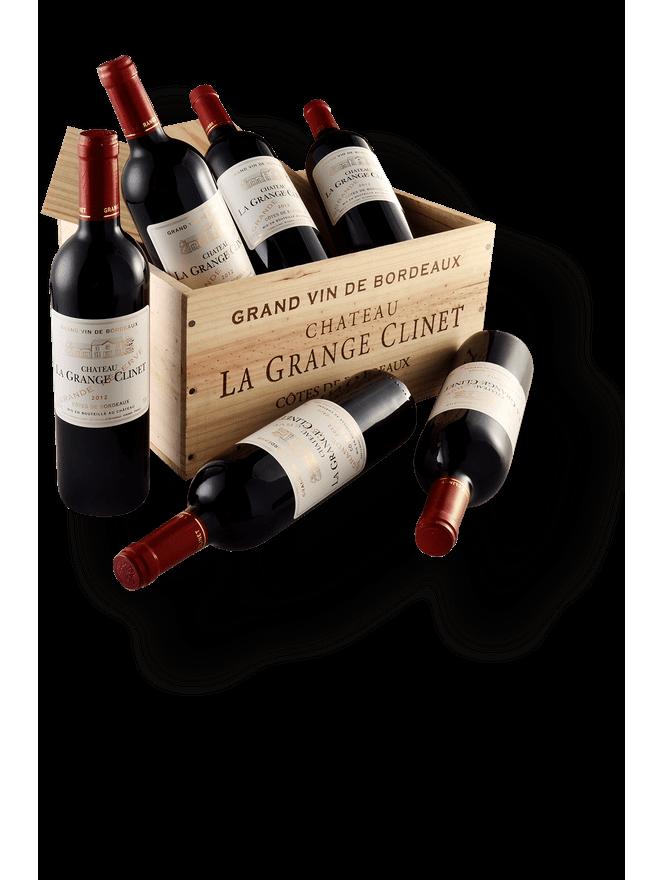 Château La Grange Clinet - Kit com 6