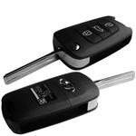 Chave Canivete Hyundai com Placa + Code para I30 Ix35 Tucson Azera