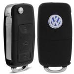 Chave Canivete Volkswagen G4 09 a 14 Gol G5 09 a 12 Fox 09 a 15 Polo Hatch Sedan 09 a 14