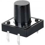 Chave Tactil Switch 12mm 180º Chvs0021 Preta Storm