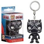 Chaveiro Funko Pop Keychain Guerra Civil Black Panther
