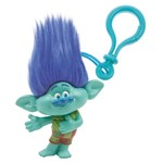 Chaveiro Médio Trolls Azul - Candide