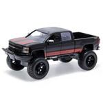 Chevy Silverado 2014 Just Trucks Off Road Edition Jada Toys 1:24 Preto