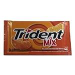 Chiclete Trident Mix Tangerina e Laranja 8gr C/21 -Adams
