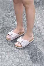 Chinelo Feminino Marly Mundial CAM - BEGE 34