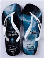 Chinelo Masculino Havaianas Harry Potter Azul/branco