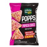 Chips de Pipoca Doce - Roots To Go - 35g