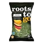 Chips Mix Batata Doce Mandioca Sem Glúten Roots To Go 100g