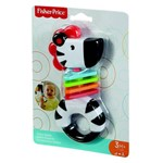 Chocalho - Animais Divertidos - Zebra - Fisher-price