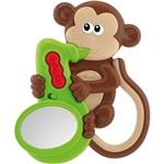 Chocalho Musical Macaco Chicco Colorido