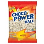 Choco Power Ball Chocolate Branco Mavalério 500g
