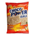 Choco Power Mini Ball Chocolate Branco Mavalério 500 G.