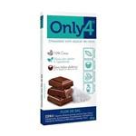 Chocolate 70% de Cacau Flor de Sal 80g - Only4