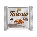 Chocolate Garoto Talento Diet com Avelãs 25g