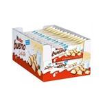 Chocolate Kinder Bueno Branco C/30un 39gr - Ferrero