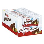 Chocolate Kinder Bueno C/30 - Ferrero