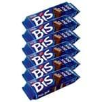 Chocolates Bis ao Leite Kit C/6 - Lacta