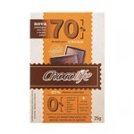 Chocolife 70% Cacau 25g - Chocolife