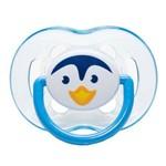Chupeta Avent S2 Pinguim Azul - Certificado OCP003 Ifbq Segurança