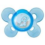 Chupeta de Silicone - Physio Confort - Azul - Tam 1 - 0 à 6 M - Chicco