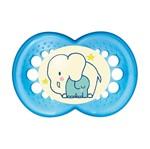 Chupeta Night Boys Elefante - BPA Free +6 Meses - MAM