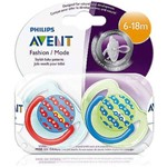Chupeta Philips Avent Free Flow 6-18m Pack 2 Unidades