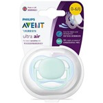 Chupeta Philips Avent Ultra Air 0 a 6 Meses Azul