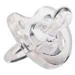 Chupeta Physio Soft Transparente 12meses Silicone Tam. 2 Chicco