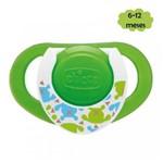 Chupeta Ring Lumi Verde 6-12meses Chicco