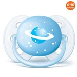 Chupeta Ultra Soft 6 à 18 Meses Espaço - Philips Avent