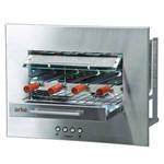 Churrasqueira Elétrica de Embutir Sapore Smart Arke 127V Inox