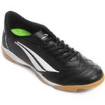Chuteira Futsal Penalty Brasil 70 R1 Vl Masculino - Preto/branco