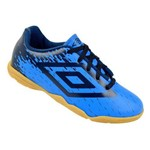 Chuteira Futsal Umbro Acid Jr - Azul/marinho