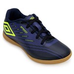 Chuteira Futsal Umbro Speed IV UB18 - Azul/Verde