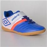 Chuteira Futsal Umbro Spirity Kids - Azul/branco