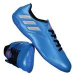 Chuteira Infantil Futsal Adidas Messi 16.4 IN S79650 Azul 35