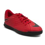 Chuteira Nike Hypernomx Phade III Futsal Vermelha Infantil 34