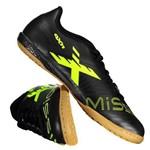 Chuteira Oxn Mission 2 Futsal Preta e Amarela