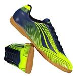 Chuteira Penalty Storm Speed VII Futsal Juvenil Amarela - Penalty