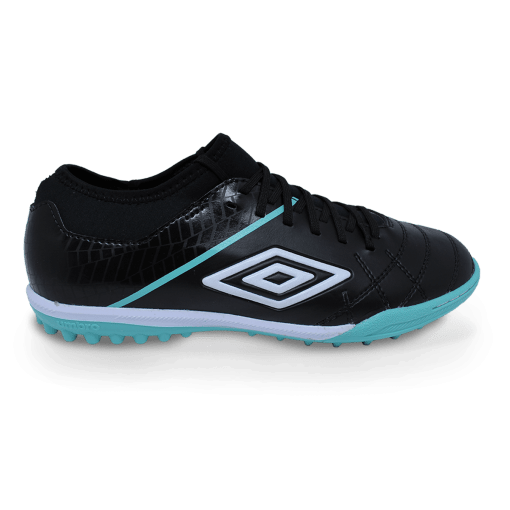 Chuteira Society Umbro Of71113 Medusae Iii Pto/verde/bco OF71113