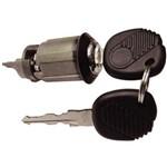 Cilindro de Ignição da Coluna da Direção C/chave - Volkswagen Gol Gii 94 à 01 - Kombi 97 à 13
