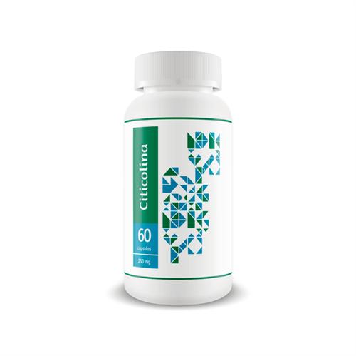 Citicolina 250 Mg - Desempenho Cognitivo - 60 Caps 60 Cápsulas