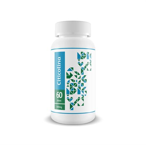 Citicolina 500 Mg - Desempenho Cognitivo - 60 Doses 60 Doses