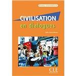 Civilisation En Dialogues - Intermédiaire + Cd Audio - Cle International