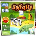 Click It CLB-SF01 Big Safari com 13 Peças