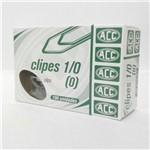 Clips Acc 1/0 (0) Aço Galvanizado Caixa com 100 Unidades