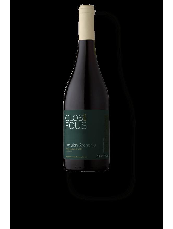 Clos Des Fous Pucalán Arenaria Pinot Noir 2015