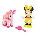 Clubhouse Boneca Minnie e Amigo Pônei - Mattel