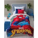 Coberdrom Jolitex Juvenil Digital Disney Homem Aranha
